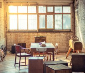oficina rollo obra loft abandonado libros ladrillo visto (3)